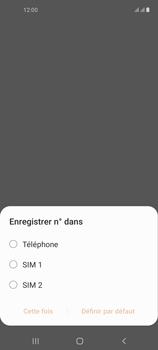 Samsung Galaxy A21s - Contact, Appels, SMS/MMS - Ajouter un contact - Étape 5