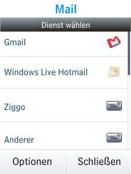 Nokia Asha 300 - E-Mail - Konto einrichten - 1 / 1