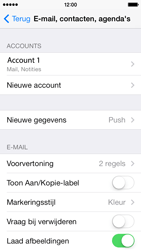 Apple iPhone 5c iOS 8 - E-mail - Account instellen (IMAP met SMTP-verificatie) - Stap 29