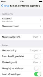Apple iPhone 5s iOS 8 - E-mail - Account instellen (IMAP met SMTP-verificatie) - Stap 29