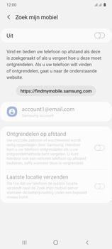 Samsung Galaxy A41 Dual-SIM (SM-A415F) - Beveiliging en ouderlijk toezicht - Zoek mijn mobiel inschakelen - Stap 6