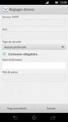 Sony Xperia T - E-mail - Configuration manuelle - Étape 13