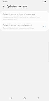 Samsung Galaxy Note9 - Android Pie - Réseau - Sélection manuelle du réseau - Étape 9