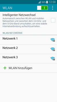Samsung Galaxy Note 4 - WiFi - WiFi-Konfiguration - Schritt 6