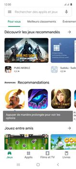 Samsung Galaxy A71 - Applications - Télécharger une application - Étape 4