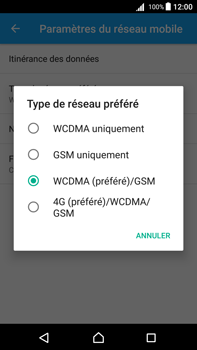 Sony Xperia Z5 Premium (E6853) - Android Nougat - Réseau - Activer 4G/LTE - Étape 7