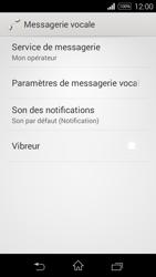 Sony D2203 Xperia E3 - Messagerie vocale - Configuration manuelle - Étape 6