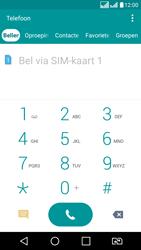 LG K8 - Voicemail - Handmatig instellen - Stap 4