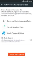 HTC U Play - Fehlerbehebung - Handy zurücksetzen - 2 / 2