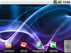Acer BeTouch E130 - Internet - configuration automatique - Étape 1