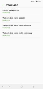 Samsung Galaxy Note9 - Anrufe - Rufumleitungen setzen und löschen - 10 / 14