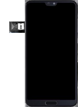 Huawei P20 Pro - SIM-Karte - Einlegen - Schritt 4