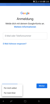 Samsung Galaxy J4+ - Apps - Konto anlegen und einrichten - Schritt 6