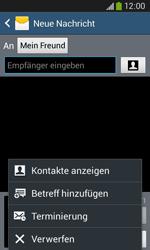 Samsung S7275 Galaxy Ace 3 - MMS - Erstellen und senden - Schritt 12