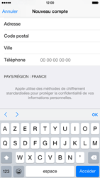 Apple iPhone 6 - Applications - Créer un compte - Étape 23