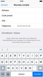 Apple iPhone 6 - Applications - Créer un compte - Étape 23