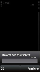 Nokia X6-00 - e-mail - handmatig instellen - stap 14
