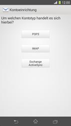 Sony Xperia Z1 Compact - E-Mail - Manuelle Konfiguration - Schritt 7