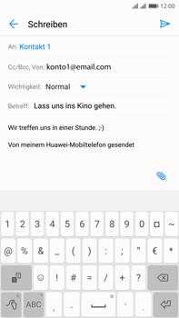 Huawei Mate 9 Pro - E-Mail - E-Mail versenden - 9 / 16