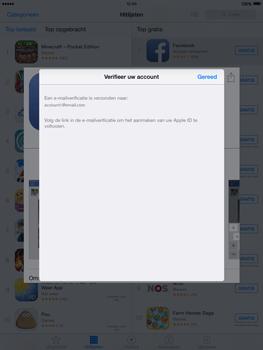 Apple iPad mini iOS 8 - Applicaties - Account aanmaken - Stap 23