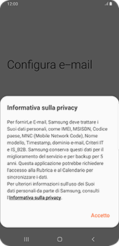 Samsung Galaxy S9 Plus - Android Pie - E-mail - 032c. Email wizard - Outlook - Fase 10