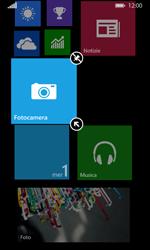 Nokia Lumia 635 - Operazioni iniziali - Personalizzazione della schermata iniziale - Fase 8