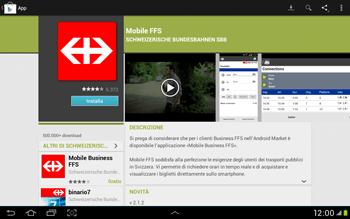 Samsung Galaxy Tab 2 10.1 - Applicazioni - Installazione delle applicazioni - Fase 21