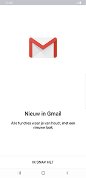 Samsung Galaxy S8+ - Android Pie (SM-G955F) - E-mail - 032a. Email wizard - Gmail - Stap 5