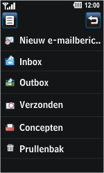 LG GD510 Pop - e-mail - hoe te versturen - stap 5