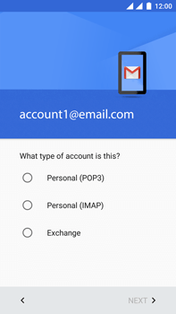 OnePlus 3 - E-mail - Manual configuration POP3 with SMTP verification - Step 12