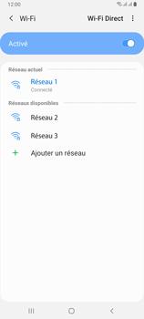 Samsung Galaxy A80 - Internet et connexion - Accéder au réseau Wi-Fi - Étape 9