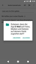Sony Xperia XZ - E-Mail - E-Mail versenden - 11 / 18
