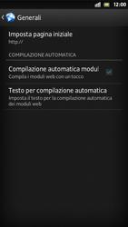Sony Xperia S - Internet e roaming dati - Configurazione manuale - Fase 21