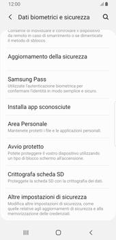 Samsung Galaxy S9 - Android Pie - Operazioni iniziali - Come abilitare il pin della SIM - Fase 5