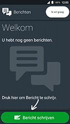 Doro 8035 - SMS - SMS-centrale instellen - Stap 4