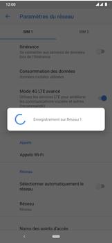 Nokia 7.2 - Réseau - Sélection manuelle du réseau - Étape 12