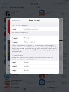 Apple iPad Air 2 - Apps - Konto anlegen und einrichten - 23 / 35