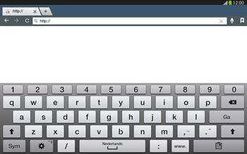 Samsung P5220 Galaxy Tab 3 10-1 LTE - Internet - Internet gebruiken - Stap 5