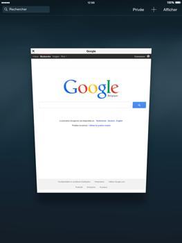Apple iPad mini 2 - iOS 8 - Internet et roaming de données - Navigation sur Internet - Étape 15