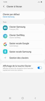 Samsung Galaxy S20 Plus 5G - Prise en main - Comment ajouter une langue de clavier - Étape 7