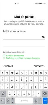 Huawei P40 - Applications - Créer un compte - Étape 16