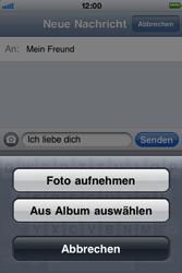 Apple iPhone 3G - MMS - Erstellen und senden - Schritt 10