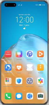Huawei P40 - Premiers pas - Configurer l