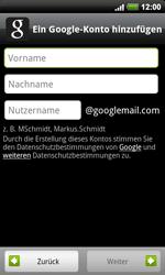 HTC Desire HD - Apps - Konto anlegen und einrichten - 0 / 0