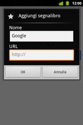 Alcatel OT-983 - Internet e roaming dati - Uso di Internet - Fase 7