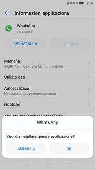Huawei Mate 9 - Applicazioni - Come disinstallare un