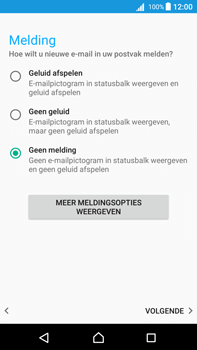 Sony Xperia Z5 Premium - Android Nougat - E-mail - e-mail instellen (outlook) - Stap 11