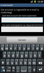 Samsung I9100 Galaxy S II - E-mail - Handmatig instellen - Stap 14