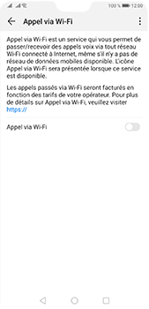 Huawei P20 Pro - Android Pie - WiFi - Activez WiFi Calling - Étape 7