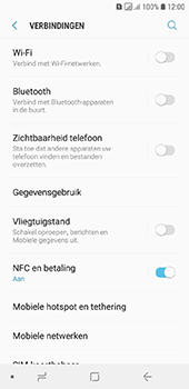 Samsung Galaxy A6 - internet - mobiele data managen - stap 5